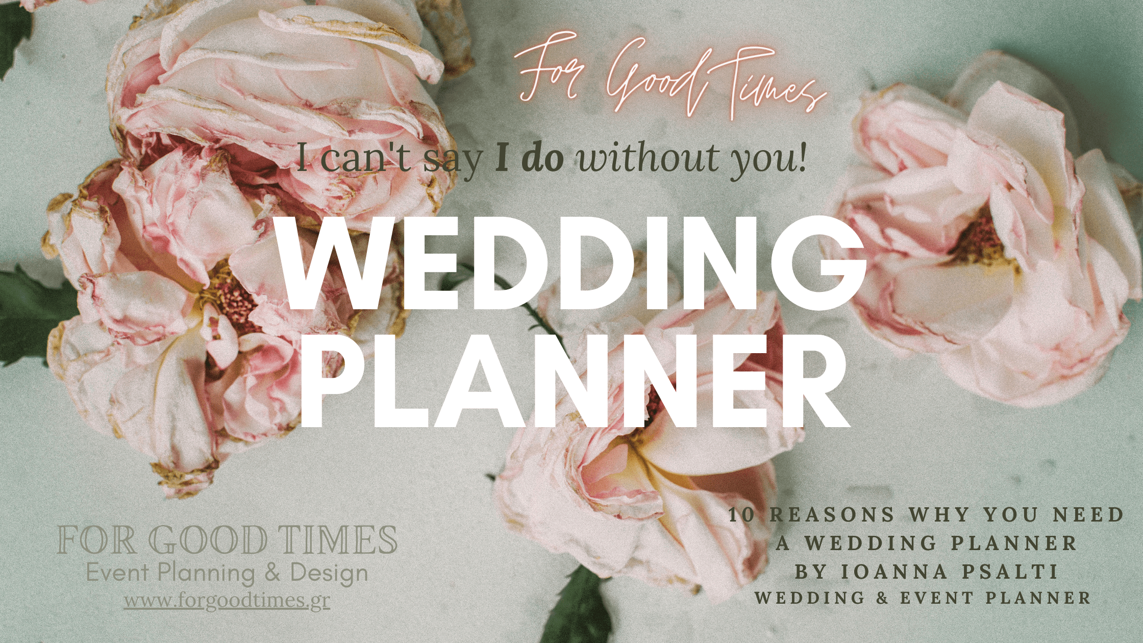 10 REASONS WHY YOU NEED TO HIRE A WEDDING PLANNER
