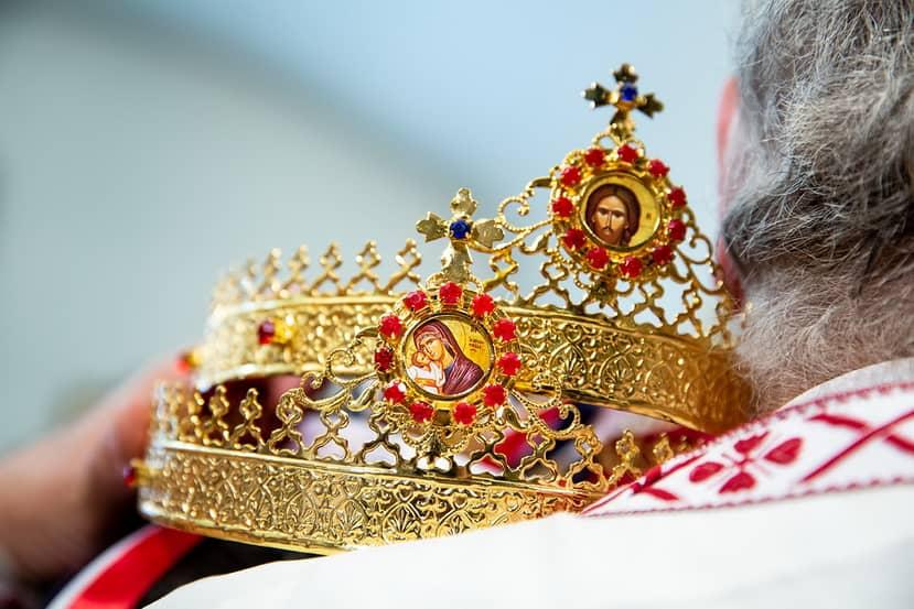 Athens Greek Wedding Crowns