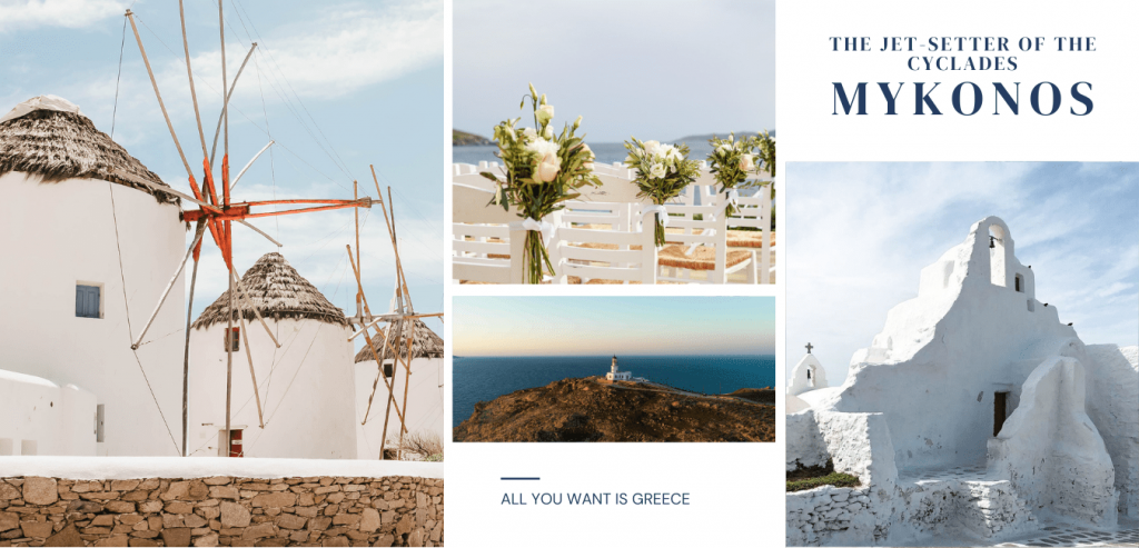 DESTINATION WEDDING - MYKONOS Greece