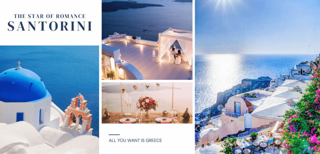 DESTINATION WEDDING - SANTORINI Greece